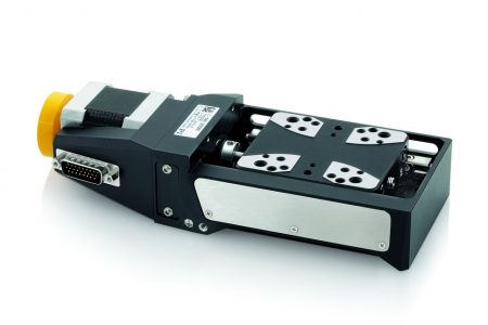 Compact L-509 Linear Stage Series With Optional DC or Stepper Motor