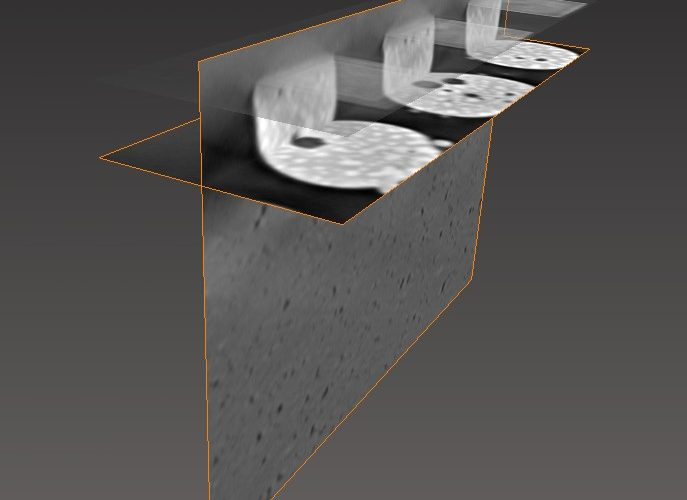 Image 5. 3D view of microstructure and voids inside soldering joints (Image: KIT)