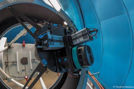 Andor Zyla sCMOS Astronomy cameras capture lunar impacts