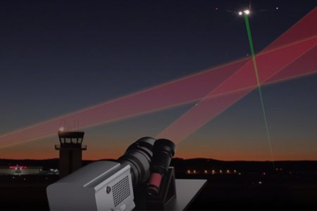 Andor cameras help detect source of laser beam attacks on aircraft